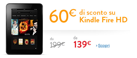 Sconto / Coupon per Kindle Dire HD