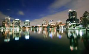 orlando Florida a Downtown